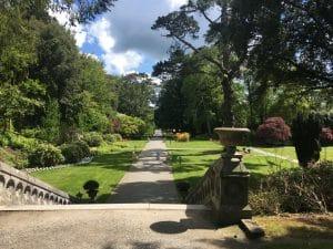 Az Ashford kastély parkja, Cong, Mayo, Írország