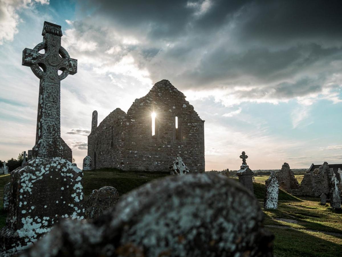 Clonmacnoise, Co. Offaly, Írország