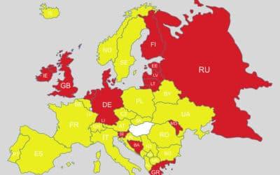 COVID-helyzet: Magyarország lekerült a zöld listáról